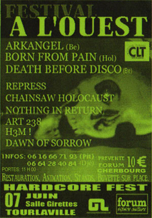 arkangel,born from pain,death before disco
