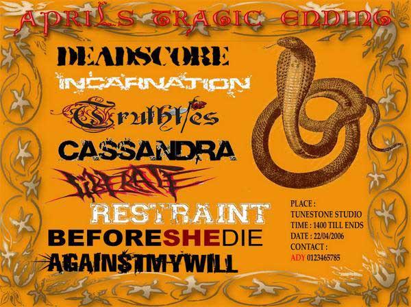 restraint,cassandra,deadscore