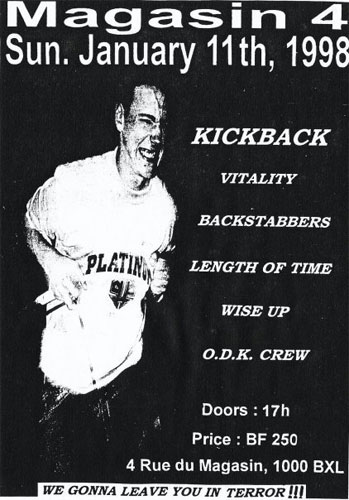 kickback,wise up,vitality,backstabbers,length of time,odk crew