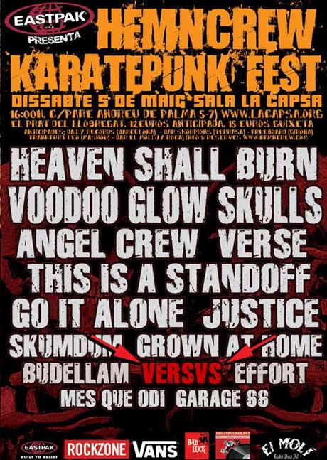 heaven shall burn,angel crew,verse,go it alone,versus