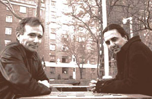 Paul Rachman with Steven Blush