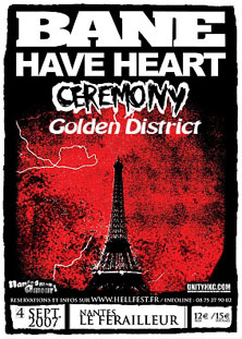 bane,ceremony,have heart,golden district
