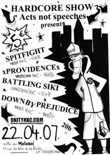 spitfight,providence,down by prejudice,battling siki