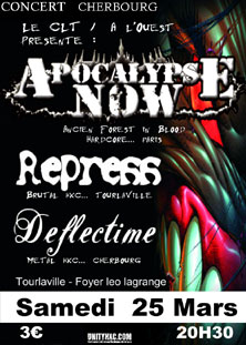 repress,apocalypse now,deflectime