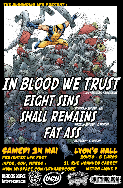 in blood we trust,fat ass
