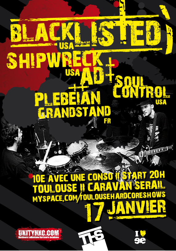 blacklisted,shipwreck ad,soul control,