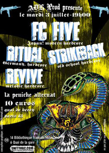 fc five,ritual,strike back,revive