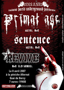 primal age,revive,sentence