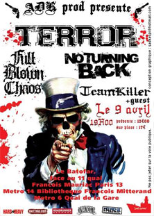 terror,no turning back,full blown chaos,teamkiller