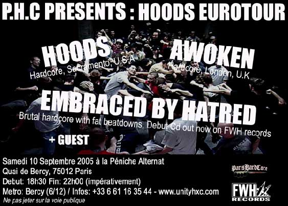 hoods,awoken,embraced by hatred