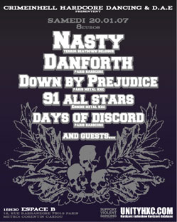 nasty,danforth,down by prejudice,days of discord