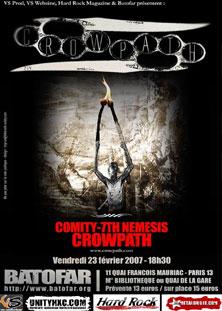 crowpath,comity