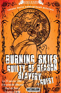 slavery,burning skies