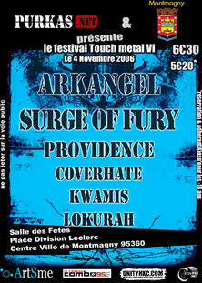 arkangel,providence,surge of fury,coverhate