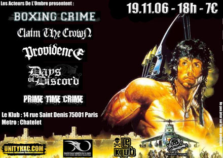boxing crime,claim the crown,providence,days of discord