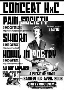 pain society,sworn