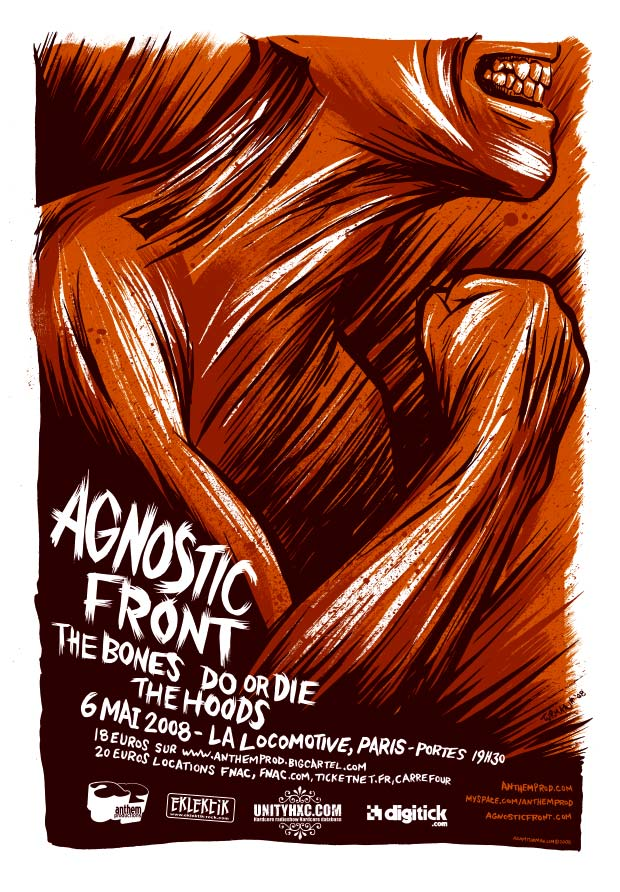 agnostic front,hoods