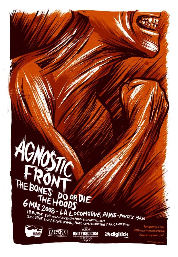 agnostic front,hoods