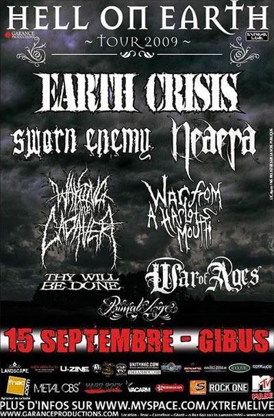 earth crisis,sworn enemy,war of ages,primal age,neaera