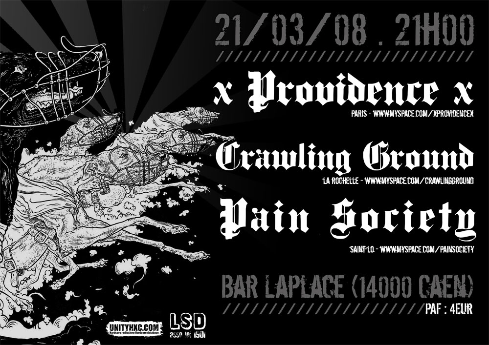 providence,crawling ground,pain society