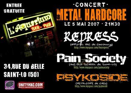 repress,pain society