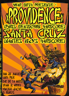 santa cruz,providence