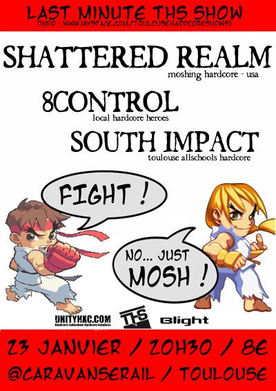 shattered realm,south impact,8 control