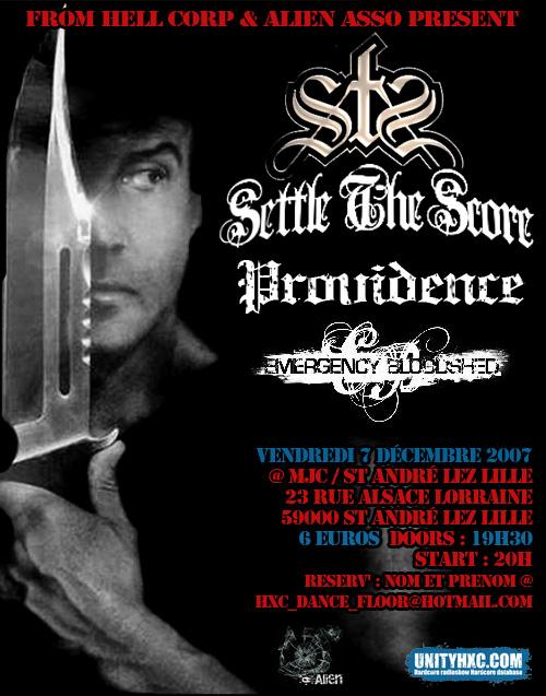 settle the score,providence