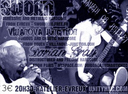 dorian gray,villanova junction,sworn