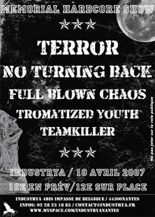terror,no turning back,full blown chaos,tromatized youth,teamkiller