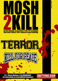 terror,kill for peace