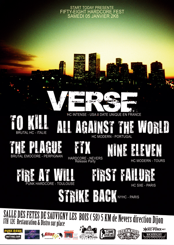 ftx,to kill,verse,all against the world,strike back,first failure,nine eleven,fire at will