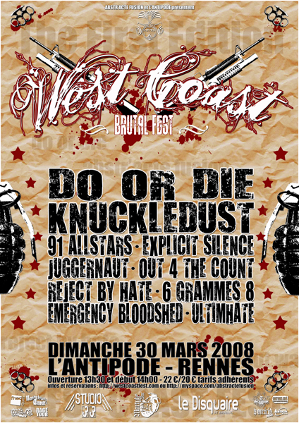 do or die,knuckledust,out for the count,explicit silence