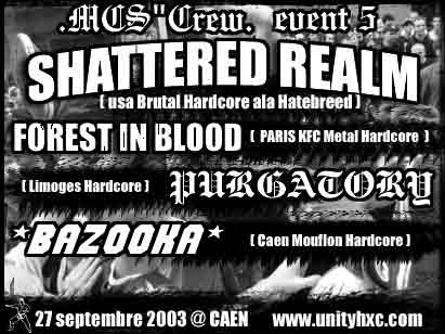 bazooka,shattered realm,forest in blood,purgatory